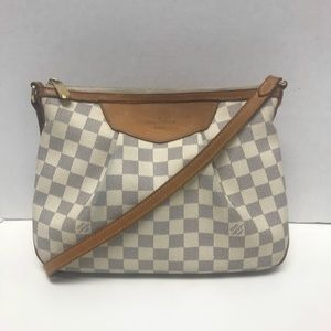 Louis Vuitton LV SIRACUSA PM Crossbody Bag Purse